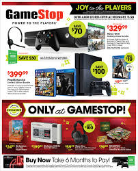 black friday ps4 games gamestop u0027s black friday flyer is out nintendo ps4 xbox one and