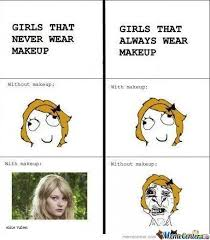 Funny Make Up Memes - what are some funny makeup memes quora