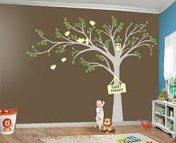tree owl wall decals nursery nursery wall decal tree decal