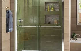 Trackless Bathtub Doors Shower Install Glass Shower Door Phenomenal Shower Door