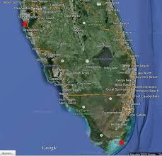 Map Of Pompano Beach Florida by Mary Mangiapia
