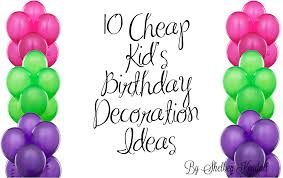 Decorations For Birthday Party At Home Cheap Birthday Party Ideas At Home Image Inspiration Of Cake And