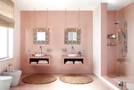pink bathroom decorating ideas pink bathroom decor girly bathroom ideas 1960s pink and