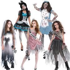 zombie halloween costumes girls teen zombie graveyard bride costume girls corpse halloween fancy