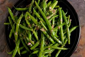 thanksgiving dinner salad french green bean salad recipe chowhound