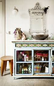 bathroom cabinets bohemian bathroom shabby chic bathroom cabinet