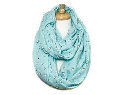 sailboat print infinity scarf apriljuly