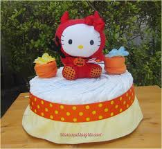 diaper cakes baby shower gifts kitty diaper cake