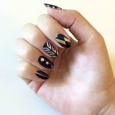flash tattoo nail art diy popsugar beauty
