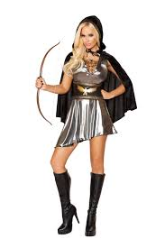 girls huntress halloween costume gunmetal black 3 pc huntress costume