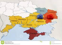 Map Ukraine Map Of War In Ukraine With Tank Stock Photo Image 49672289