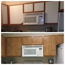 Rental Kitchen Makeover - kitchen cabinet makeover with contact paper kitchen decoration