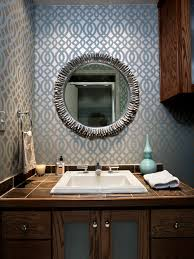 designer wallpaper for bathrooms photo of good ideas about small