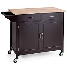 kitchen storage cabinet cart goflame portable kitchen island cart with storage and drawers rolling storage cabinet trolley cart with lockable wheels
