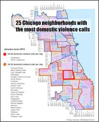 Chicago Crime Maps by Domestic Violence Report Shows Little Improvement In High Crime