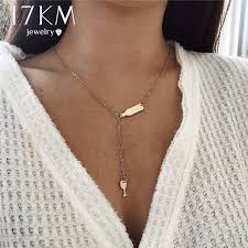 long silver statement necklace images 17km beer cup long pendant necklace for women wine bottle gold jpg