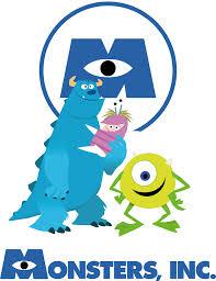 artwork pixar series monsters scott