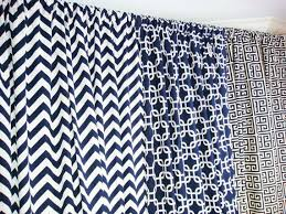 Navy Patterned Curtains Lovable Navy Patterned Curtains And 34 Best For The Home Curtains