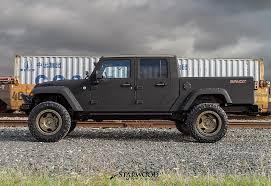 willys jeep truck lifted starwood motors u2014 the bandit 4 door jeep truck conversion now