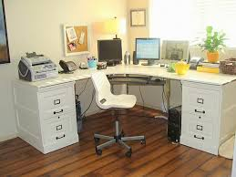 Desk Refinishing Ideas Transform Office Furniture L Shaped Desk For Home Interior Remodel