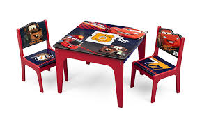 amazon com delta children deluxe table u0026 chair set with storage