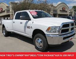 2014 Dodge 3500 Utility Truck - 2017 used ram 3500 slt dually crew cab 4x4 bluetooth touch screen