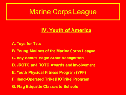 Flag Etiquette Marine Corps League Recruiting Tool Ppt Download
