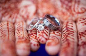 indian wedding ring diamond engagement ring photo indian puts on bridal