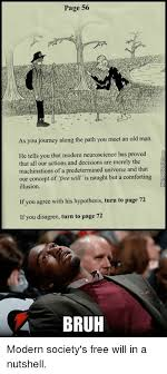 Neuroscience Meme - page 56 as you journey along the path you meet an old man he tells