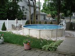 Above Ground Pool Patio Ideas Above Ground Pool Backyard Ideas