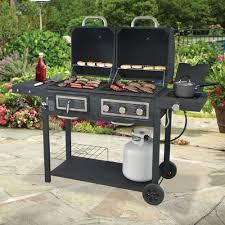 Backyard Cookout Ideas Backyard Grill Dual Gas Charcoal Grill Walmart Home Ideas On