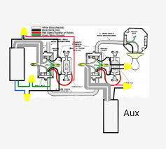 3 way switches 3 way switch with power feed via the light switch