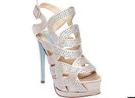 betsey johnson blue wedding shoes blue betsey johnson fancy sandals suitable gown trendy mods diy