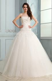 tissus robe de mari e perle robe de mariée pas cher tissu tulle broderie robe209007