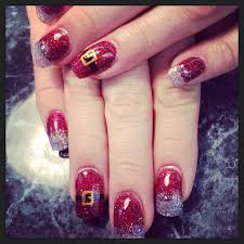 1087 best mani pedi images on pinterest christmas nails