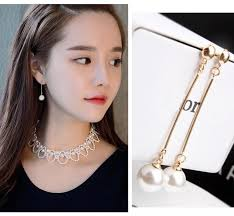 korean earings er156 korean fashion imitation pearl accessories pendant