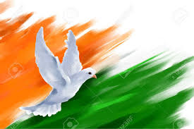 Indian Flag Gif Free Download Illustration Of Dove Flying On Indian Flag For Indian Republic