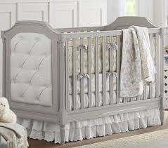 Pottery Barn Kits Blythe Convertible Cot Vintage Grey Pottery Barn Kids
