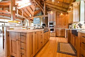 quarter sawn oak kitchen cabinets kitchen rustic with accent