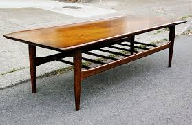 Midcentury Coffee Table Mid Century Modern Slatted Wood Coffee Table Bench This Is A Mid
