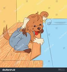 Laminate Flooring Paisley Amusing Cartoon Dog Laying Laminate Flooring Stock Vector 97376774