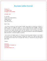 business letter format business letter format about shipment pcs business
