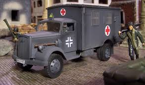 opel truck ww2 german ambulance stukas over stalingrad