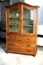 european arched top glass door bookcase