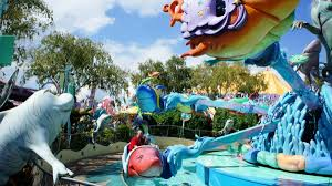 Universal Islands Of Adventure Map One Fish Two Fish Red Fish Blue Fish At Universal U0027s Islands Of