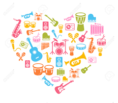 i love music musical instruments icons wallpaper can be
