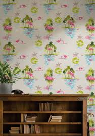 Home Wallpaper Decor by Flamingo Wallpaper In Dusk From The Kingdom Home Collection By