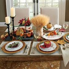 12 graceful ways for thanksgiving day table decor