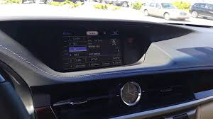 lexus es hybrid vs gas lexus es350 radio sunshade fuel door tutorial youtube