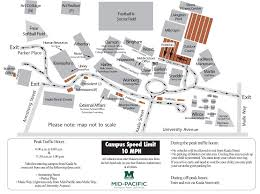 Armstrong Campus Map Summer One Way Traffic Flow Mid Pacific Institute
